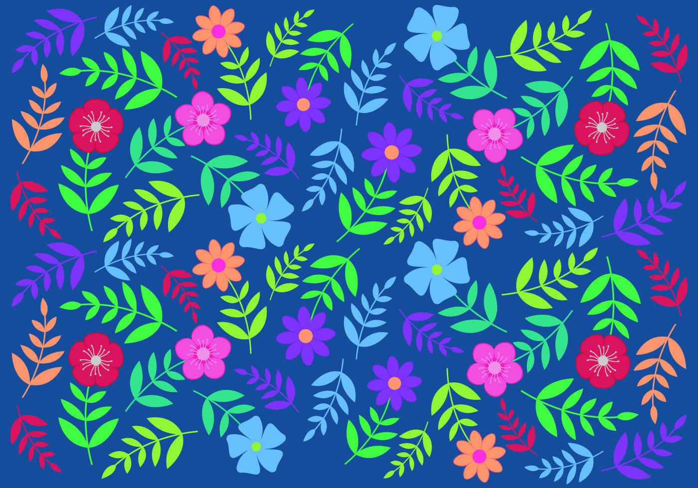 小碎花数码印花图案-POP花型网