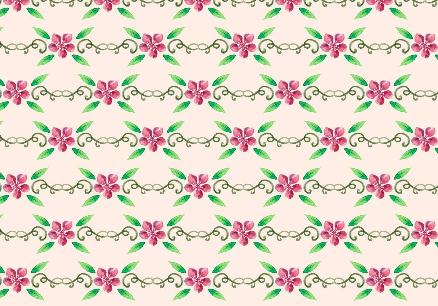 碎花拼接粉红小花矢量图服装纺织面料数码印花花型素材-POP花型网
