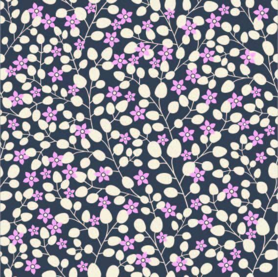 白粉小碎花 数码印花文件-POP花型网