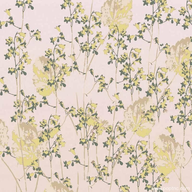 植物印花矢量图数码印花热转印花型-POP花型网