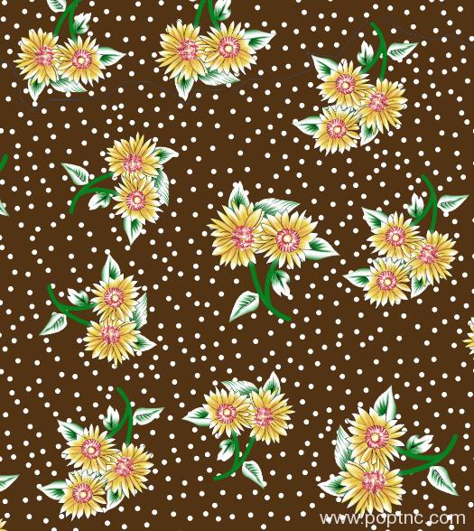 植物花卉圆点拼接矢量图水印数码印花金昌分色稿源文件-POP花型网