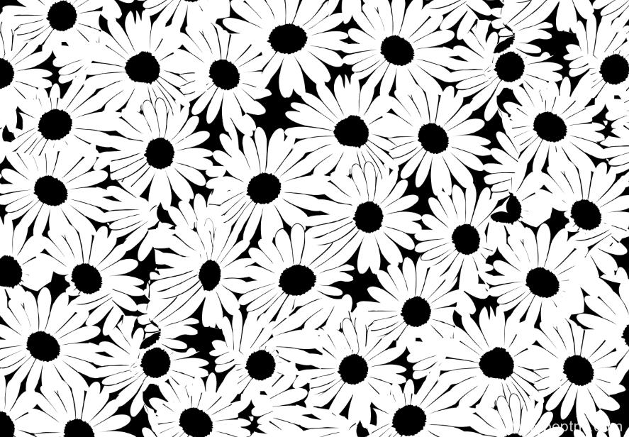 植物花卉菊花印花矢量图金昌格式分色稿a2697-2-POP花型网