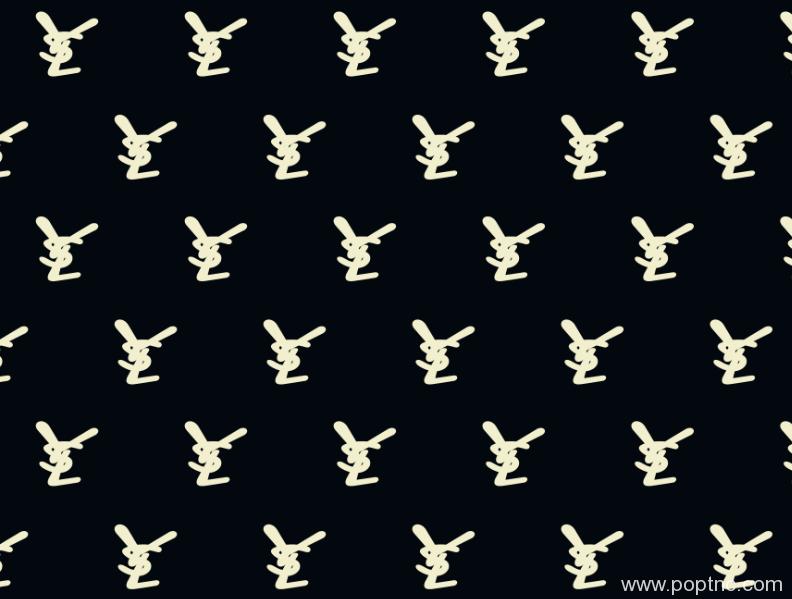 新款纺织面料印花矢量图YSL花型图案金昌分色稿源文件A2698-8-POP花型网