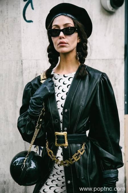 2020年春季巴黎时装周最好的街头风格-POP花型网