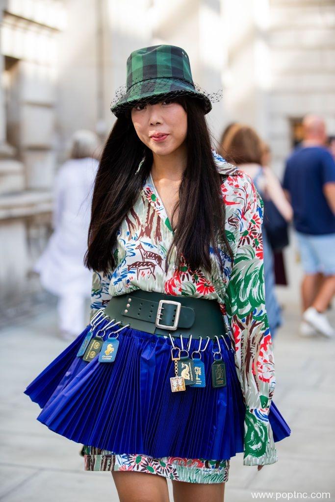 2020年春季最好的街头风格从伦敦时装周开始-POP花型网