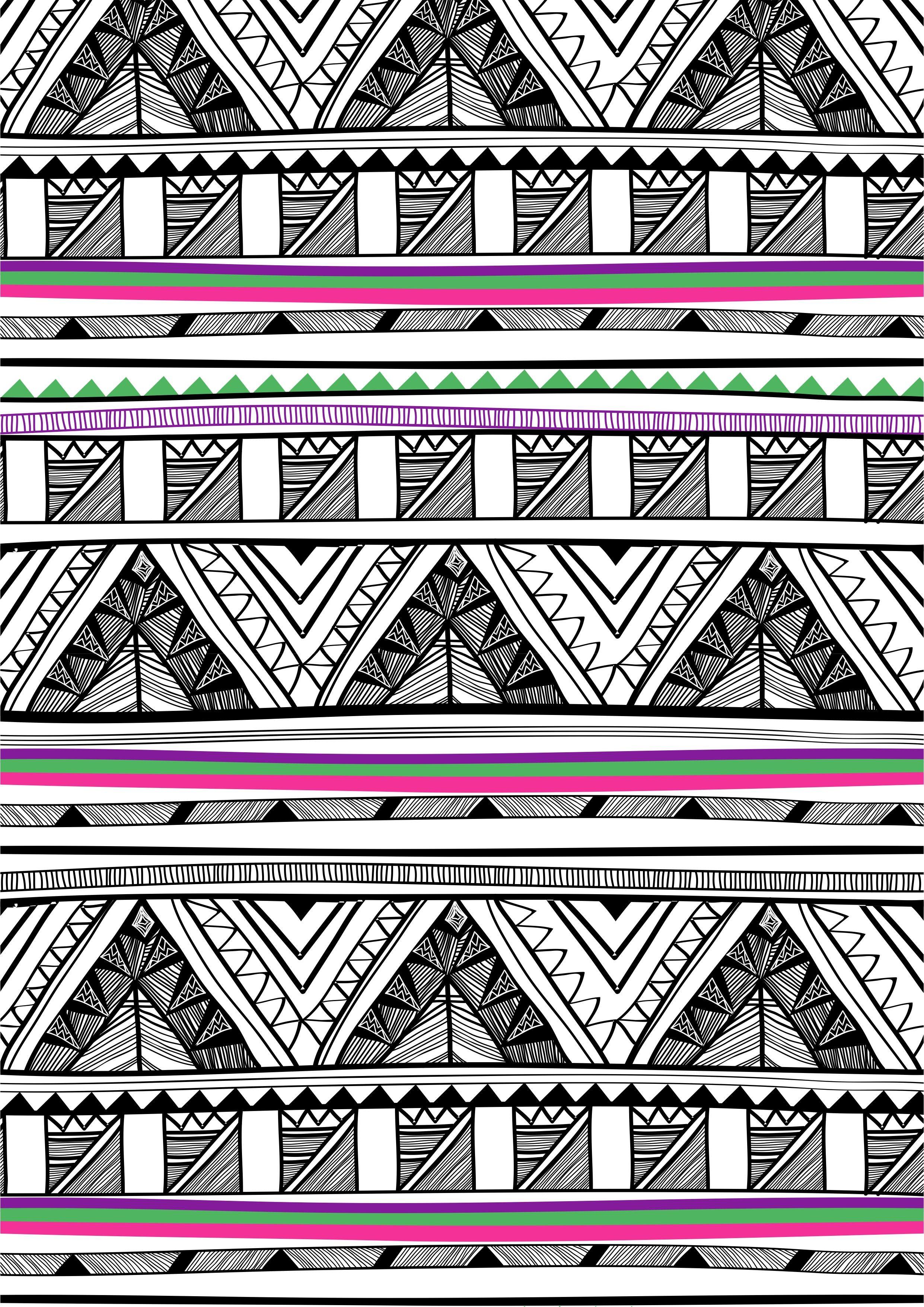 多边形几何三角形矢量图服装数码印花花型-POP花型网