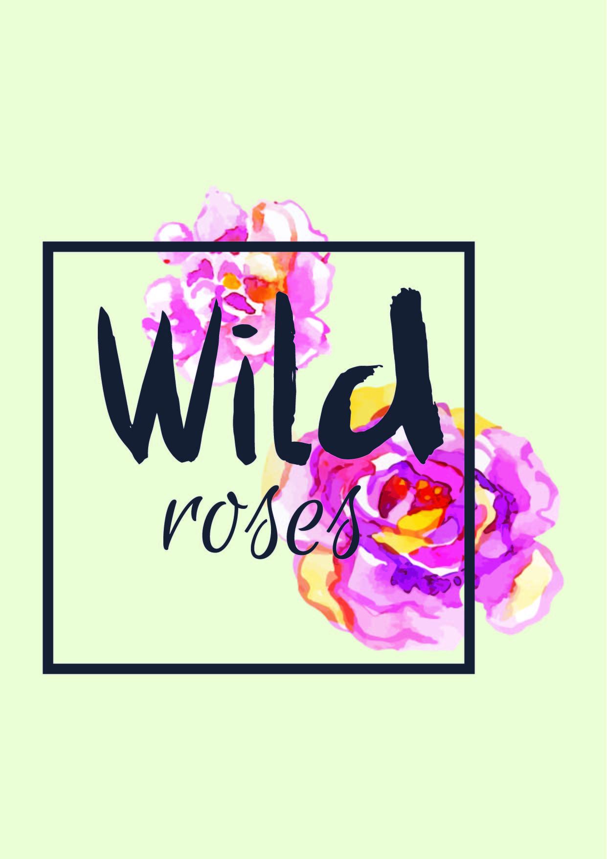 牡丹花卉字母矢量图服装裁片T恤印花花型-POP花型网
