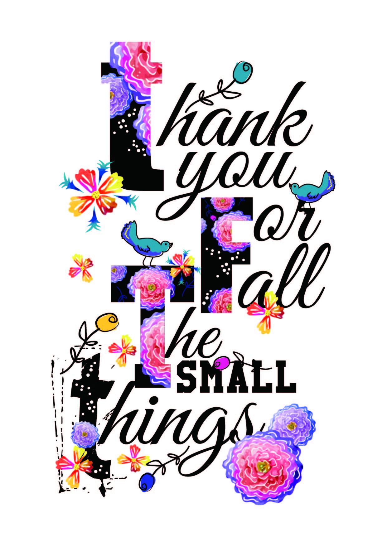 字母花卉鸟类矢量图服装面料裁片T恤烫图印花花型-POP花型网