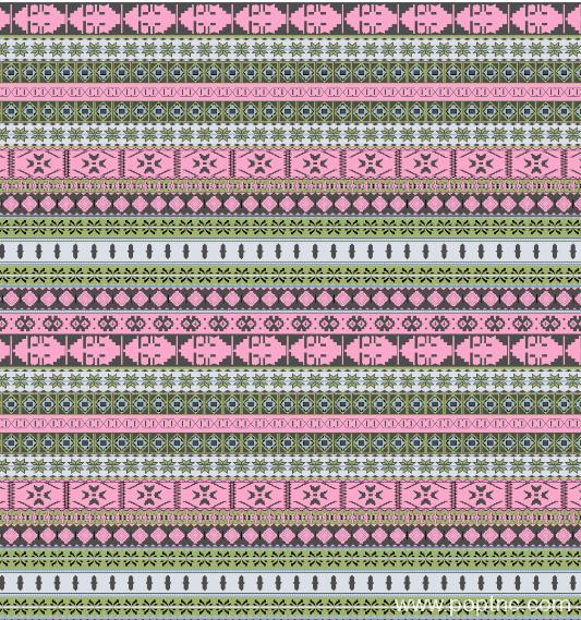 纺织面料几何拼接矢量图金昌水印数码印花分色稿-POP花型网