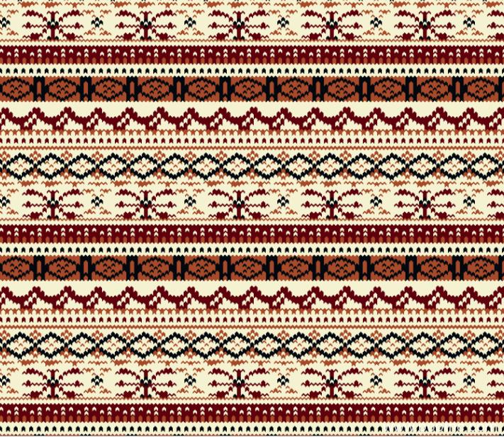 纺织面料水印数码印花矢量图几何拼接图案金昌分色稿源文件-POP花型网