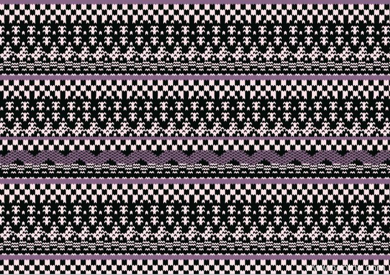 新款几何马赛克拼接矢量图纺织面料水印数码印花金昌文件-POP花型网