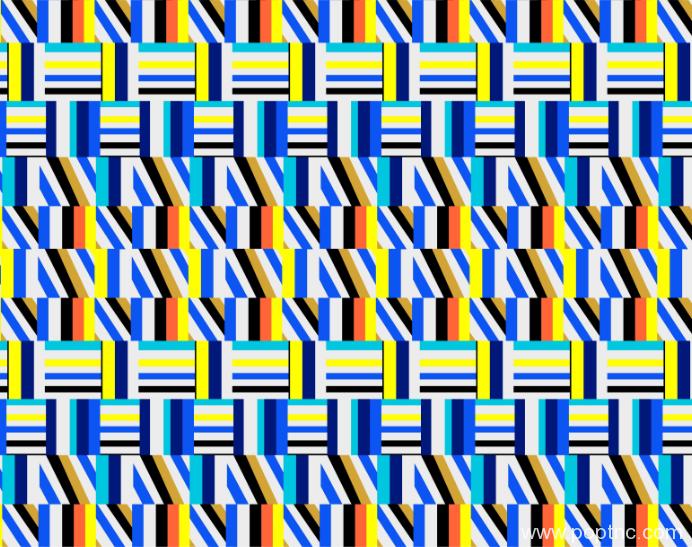 多彩几何拼接矢量图纺织面料水印数码印花金昌分色稿源文件a2759-POP花型网