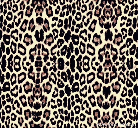 几何豹纹矢量图纺织面料印花金昌格式源文件A2775-1-POP花型网