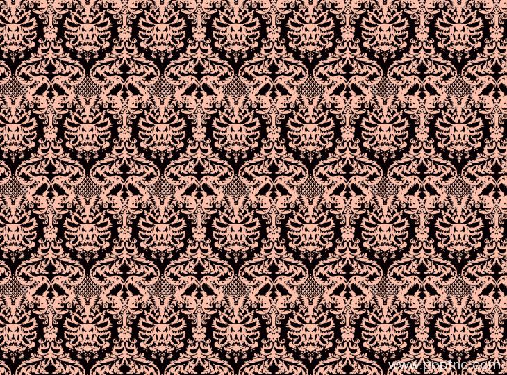 复古几何花纹印花图案纺织面料水印数码印花金昌分色稿A2768-1-POP花型网
