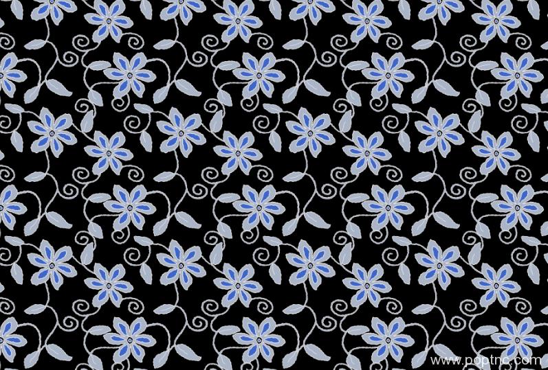 纺织面料植物花卉拼接印花矢量图金昌格式分色稿a2760-3-POP花型网