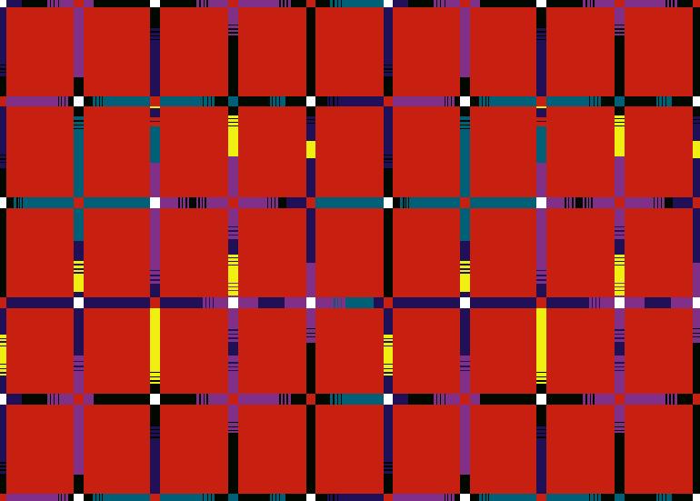 多彩条子拼接几何格子印花矢量图服装纺织面料水印数码印花金昌花型素材-POP花型网