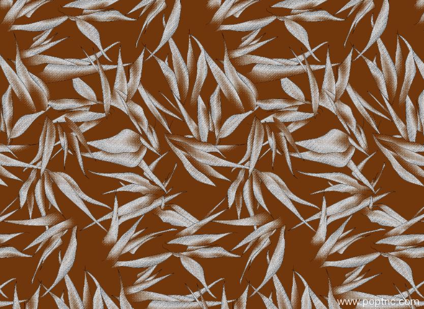 植物叶子花纹矢量图纺织面料印花花型金昌格式分色稿A2689-POP花型网