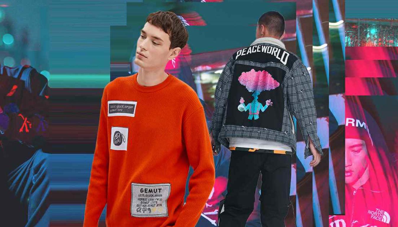 2020春夏男装图案工艺趋势预测贴布-POP花型网