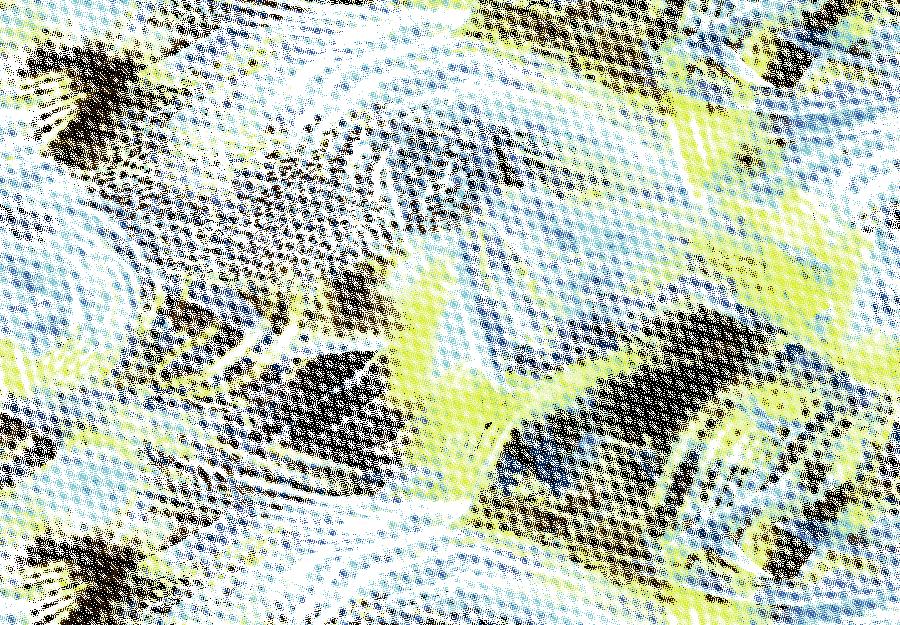 几何圆点拼接矢量图服装纺织面料水印数码印花金昌花型素材-POP花型网
