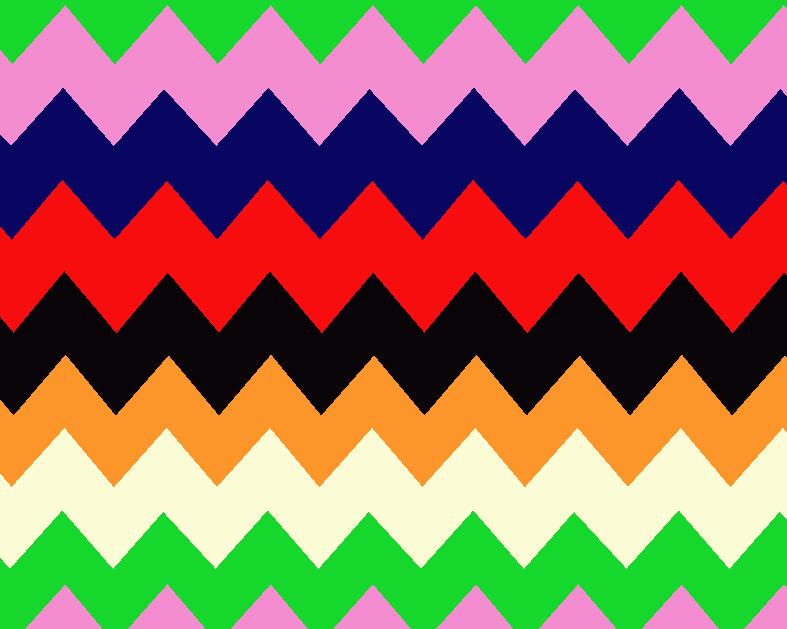几何多彩波浪花纹矢量图服装纺织面料水印数码印花金昌花型素材-POP花型网