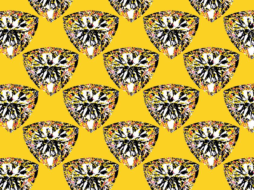 几何钻石花纹拼接图案服装纺织面料水印数码印花金昌素材-POP花型网