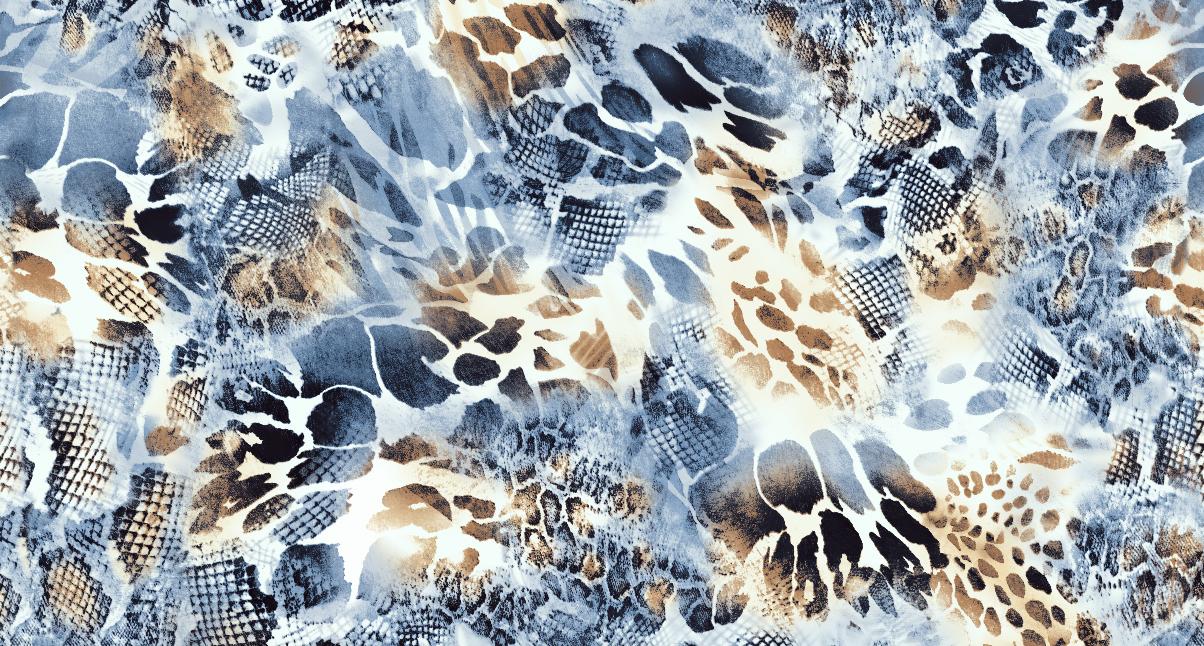 几何豹纹印花矢量图服装纺织面料水印数码印花金昌花型素材-POP花型网