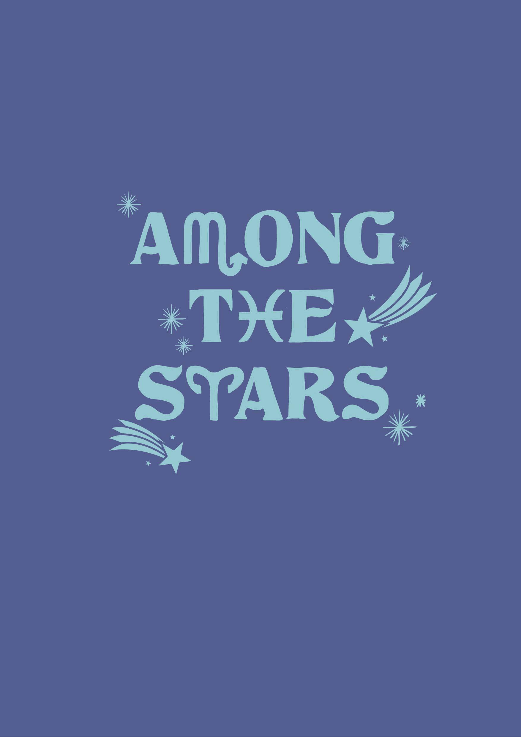 字母五角星矢量图服装裁片T恤烫图印花花型素材-POP花型网