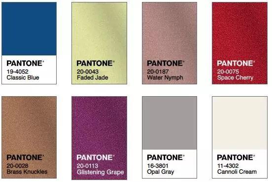 PANTONE潘通2020年度代表色-POP花型网