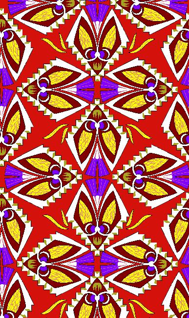 几何花纹抽象昆虫矢量图服装纺织面料水印数码印花金昌花型素材-POP花型网