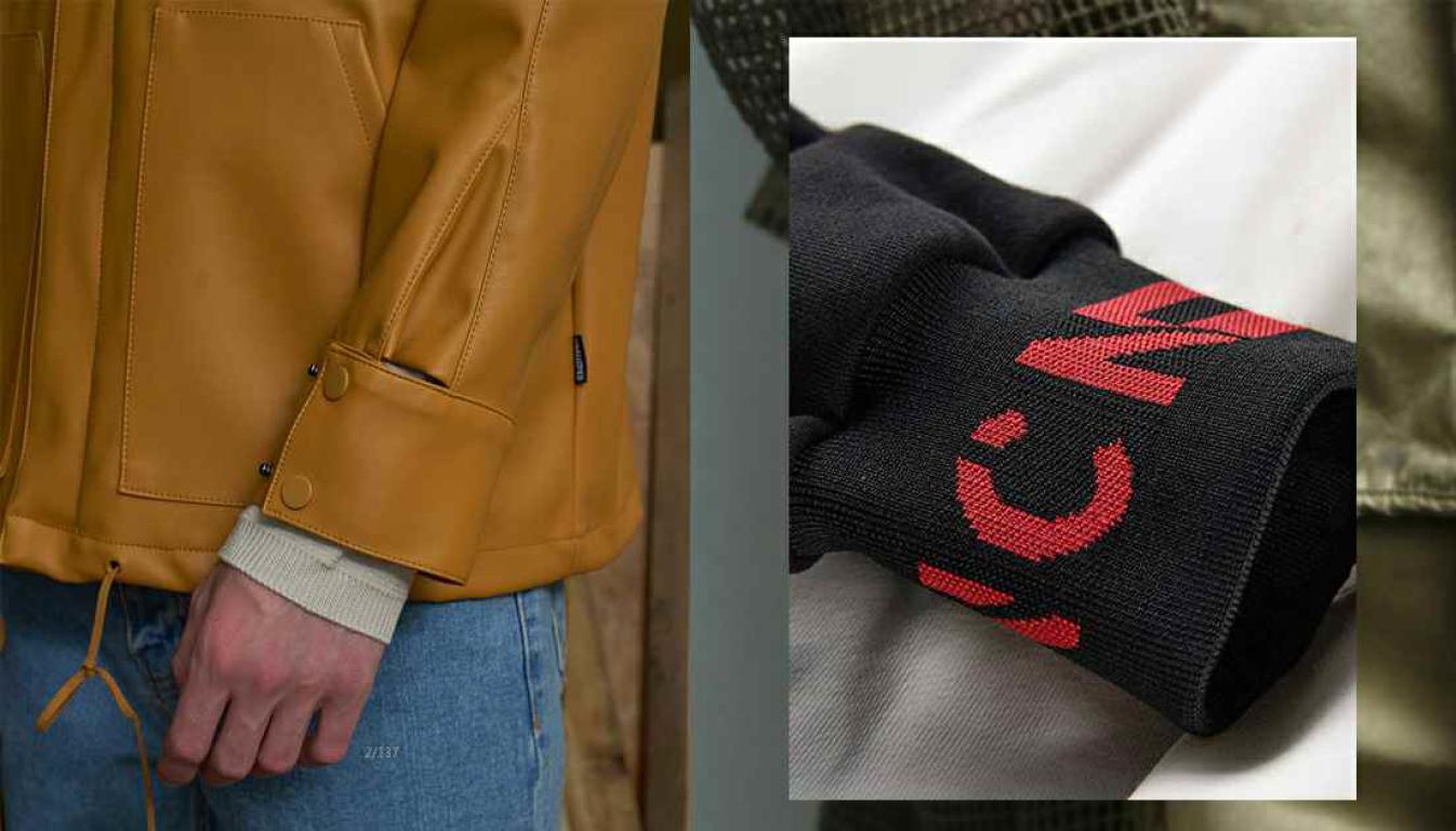 2020春夏男装细节工艺趋势预测袖口装饰-POP花型网