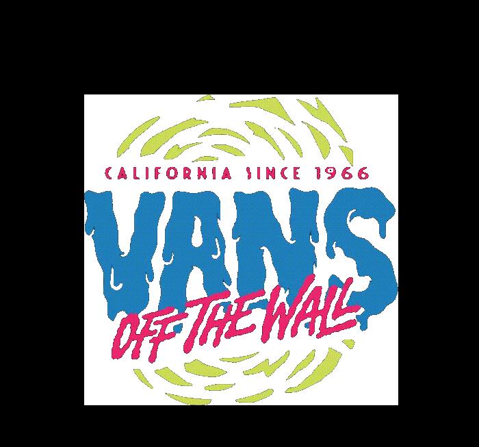 范斯VANS字母图案服装T恤裁片烫图印花花型素材-POP花型网