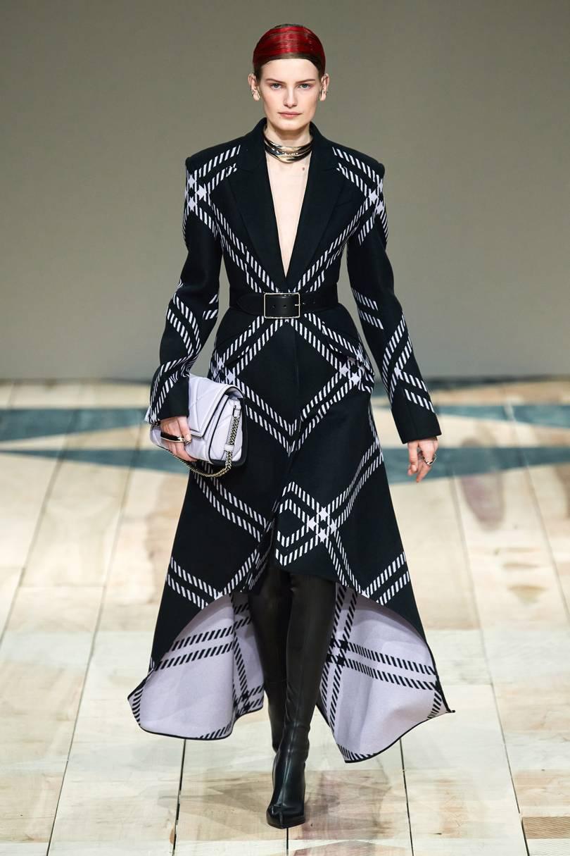 巴黎时装周丨Alexander McQueen 2020秋冬系列-POP花型网