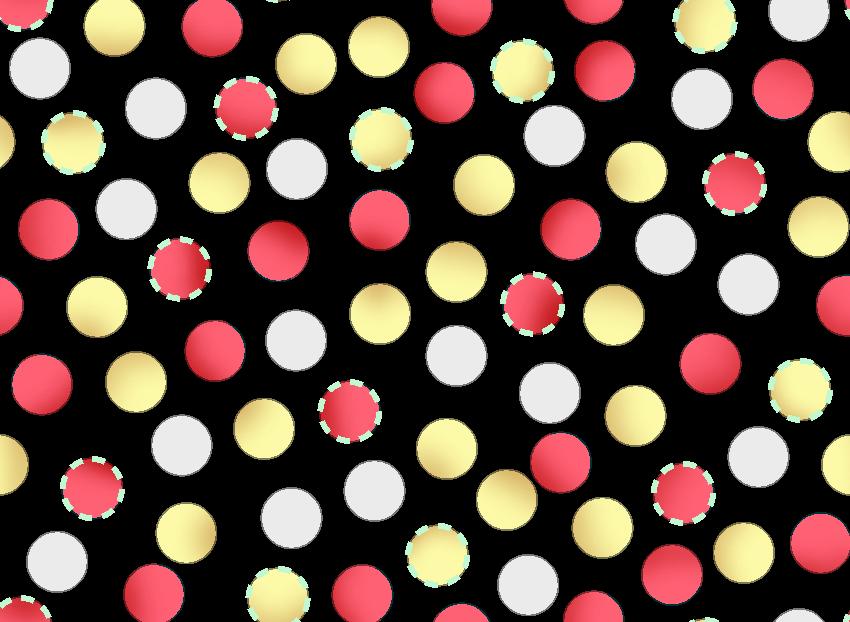 多彩几何圆点拼接印花矢量图服装纺织面料水印数码印花金昌花型素材-POP花型网
