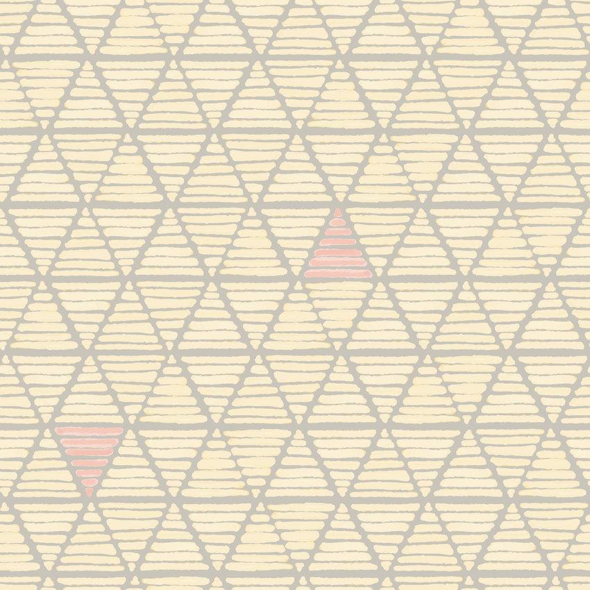 几何图案拼接三角形矢量图服装纺织面料数码印花花型素材-POP花型网