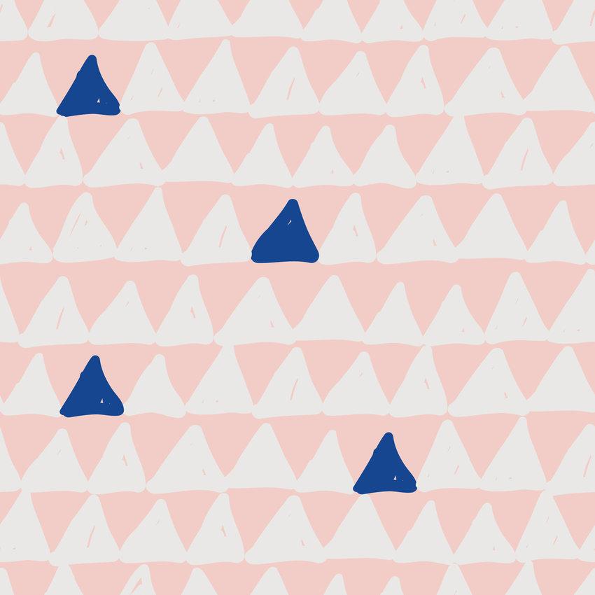 几何三角形拼接矢量图服装纺织面料数码印花花型素材-POP花型网