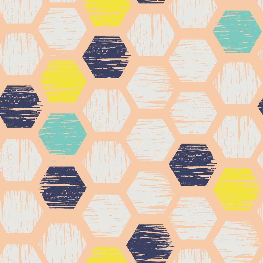 几何多边形马赛克拼接印花矢量图服装纺织面料数码印花花型素材-POP花型网