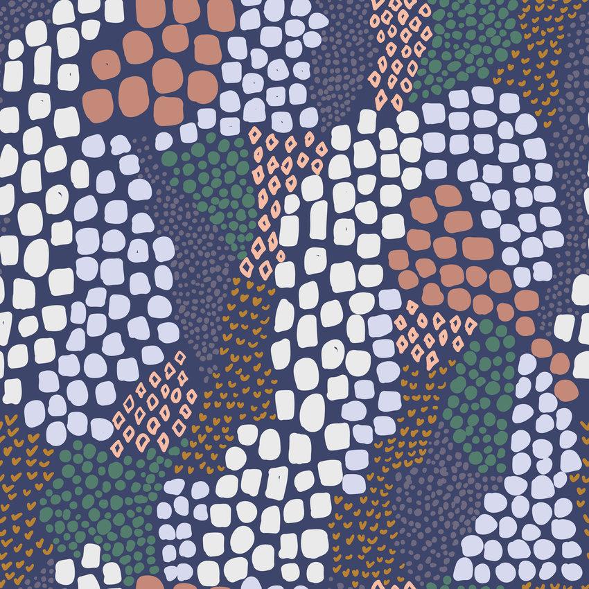 几何拼接矢量图服装纺织面料数码印花花型素材-POP花型网