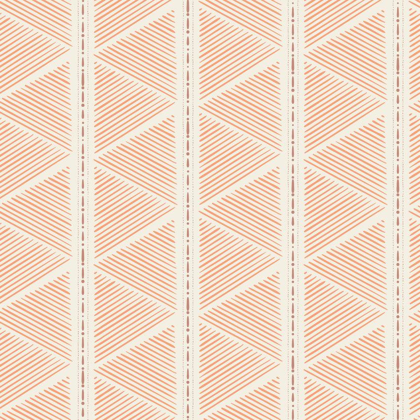 几何线条三角形印花矢量图服装纺织面料数码印花花型素材-POP花型网