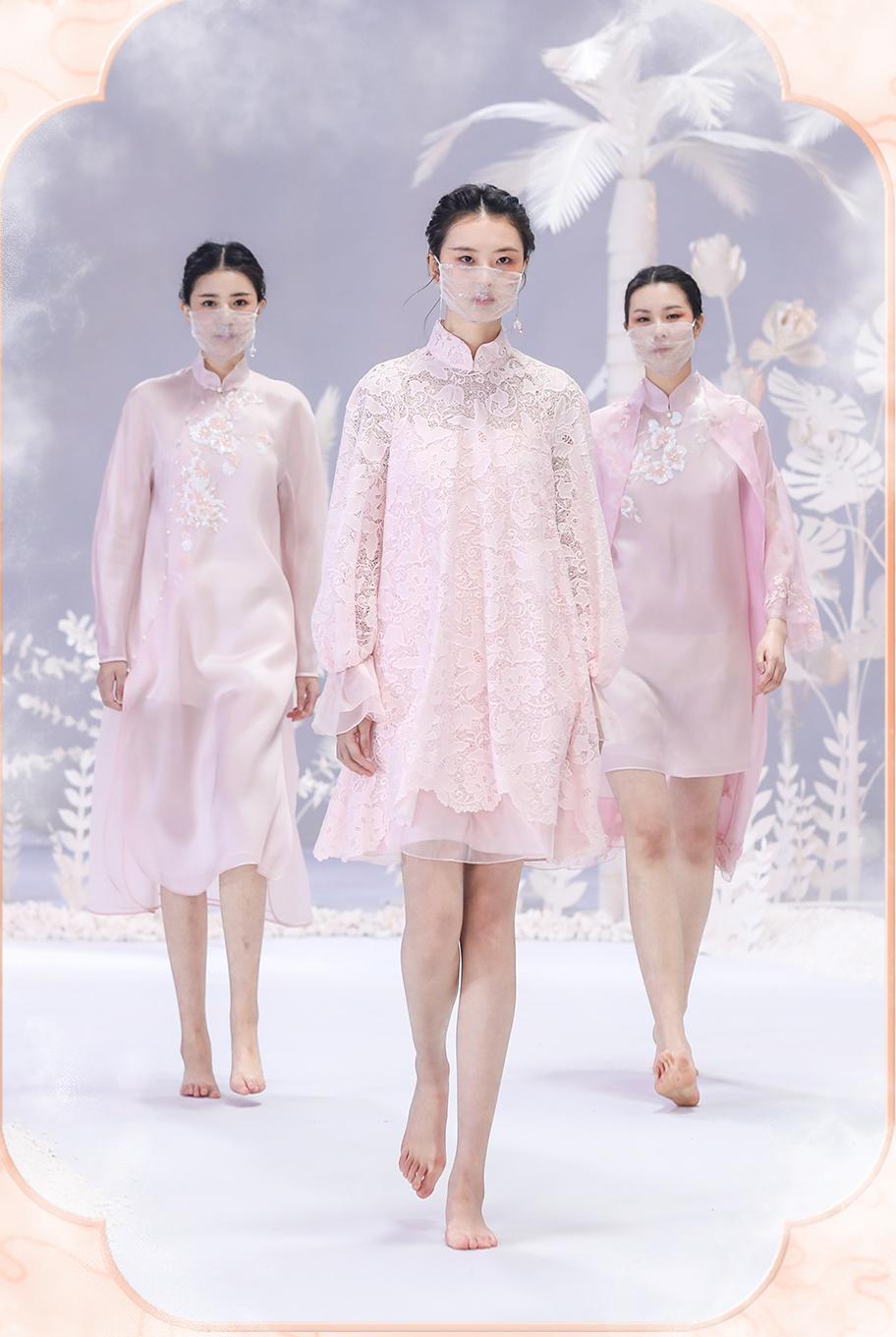 中国国际时装周丨盖娅传说·熊英 2020秋冬系列-POP花型网