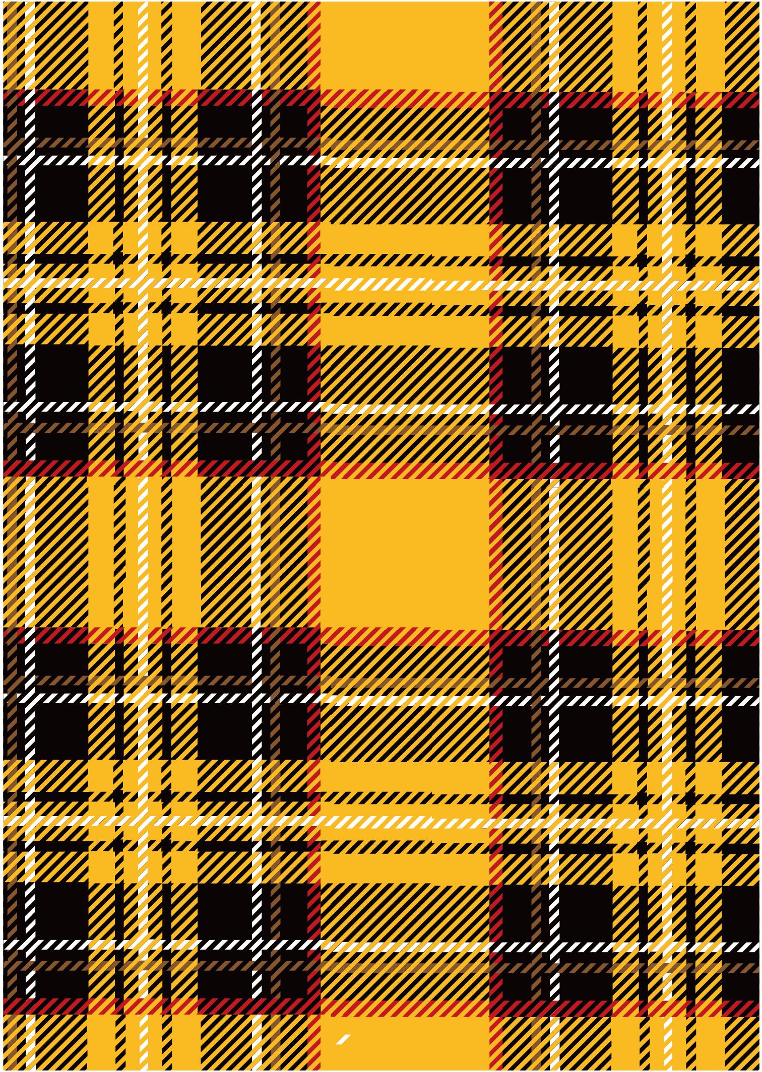 黄色几何格子印花拼接矢量图服装纺织面料数码印花花型素材-POP花型网