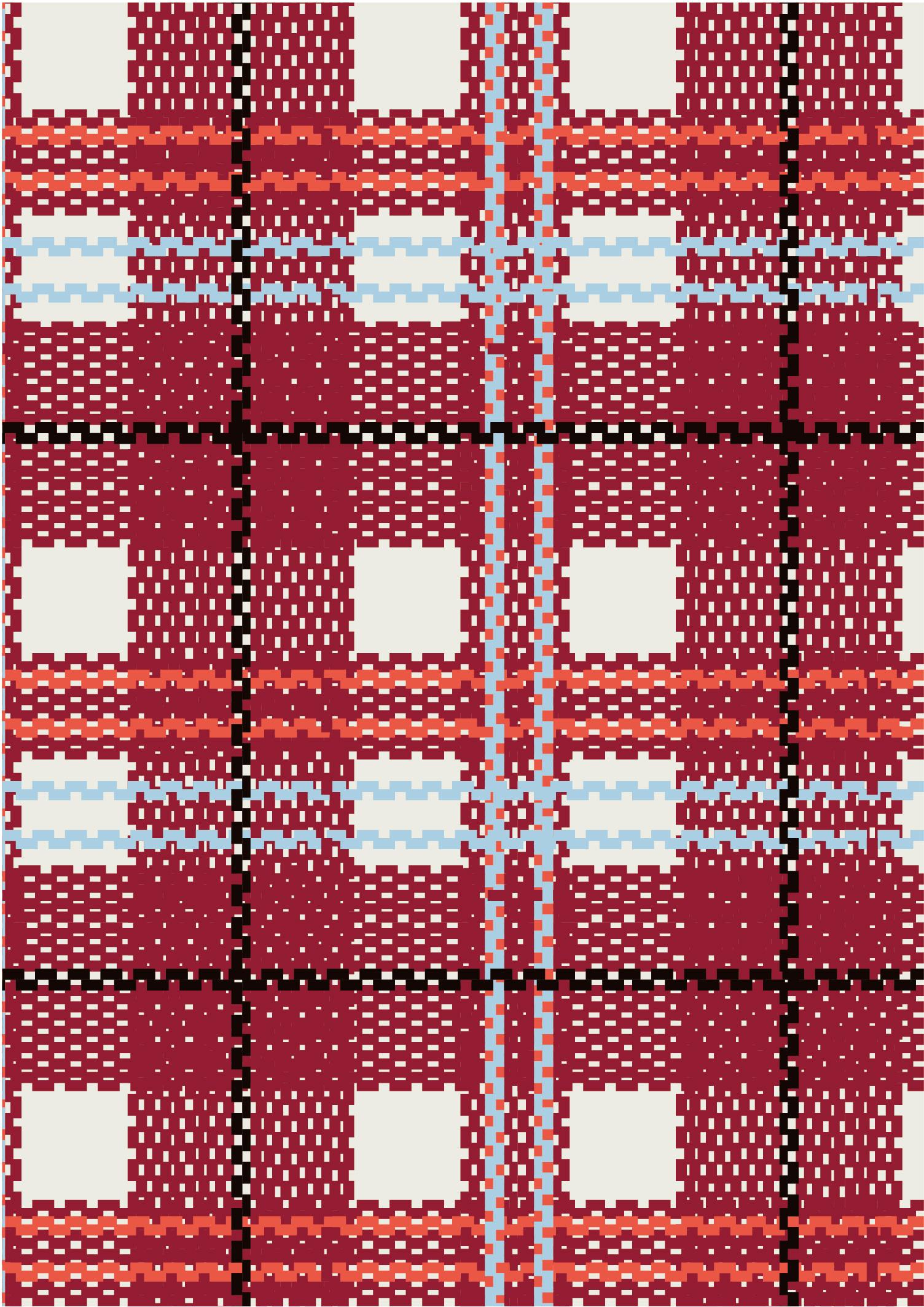 几何马赛克格子拼接印花矢量图服装纺织面料数码印花花型素材-POP花型网