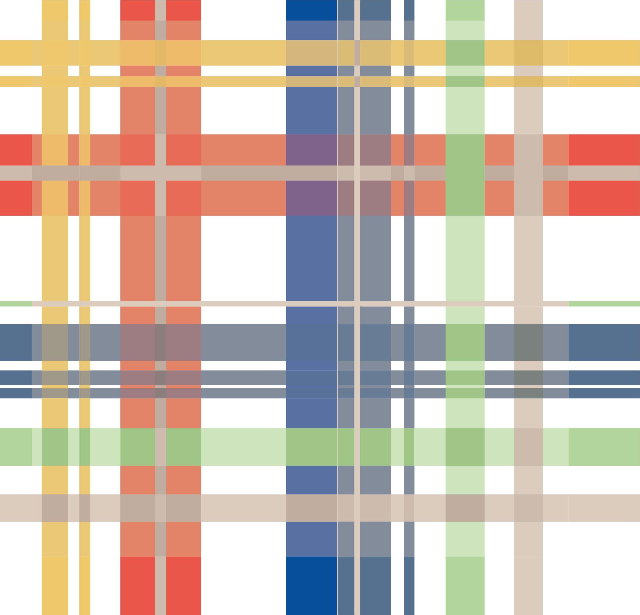 多彩几何条子拼接印花矢量图服装纺织面料数码印花花型素材-POP花型网
