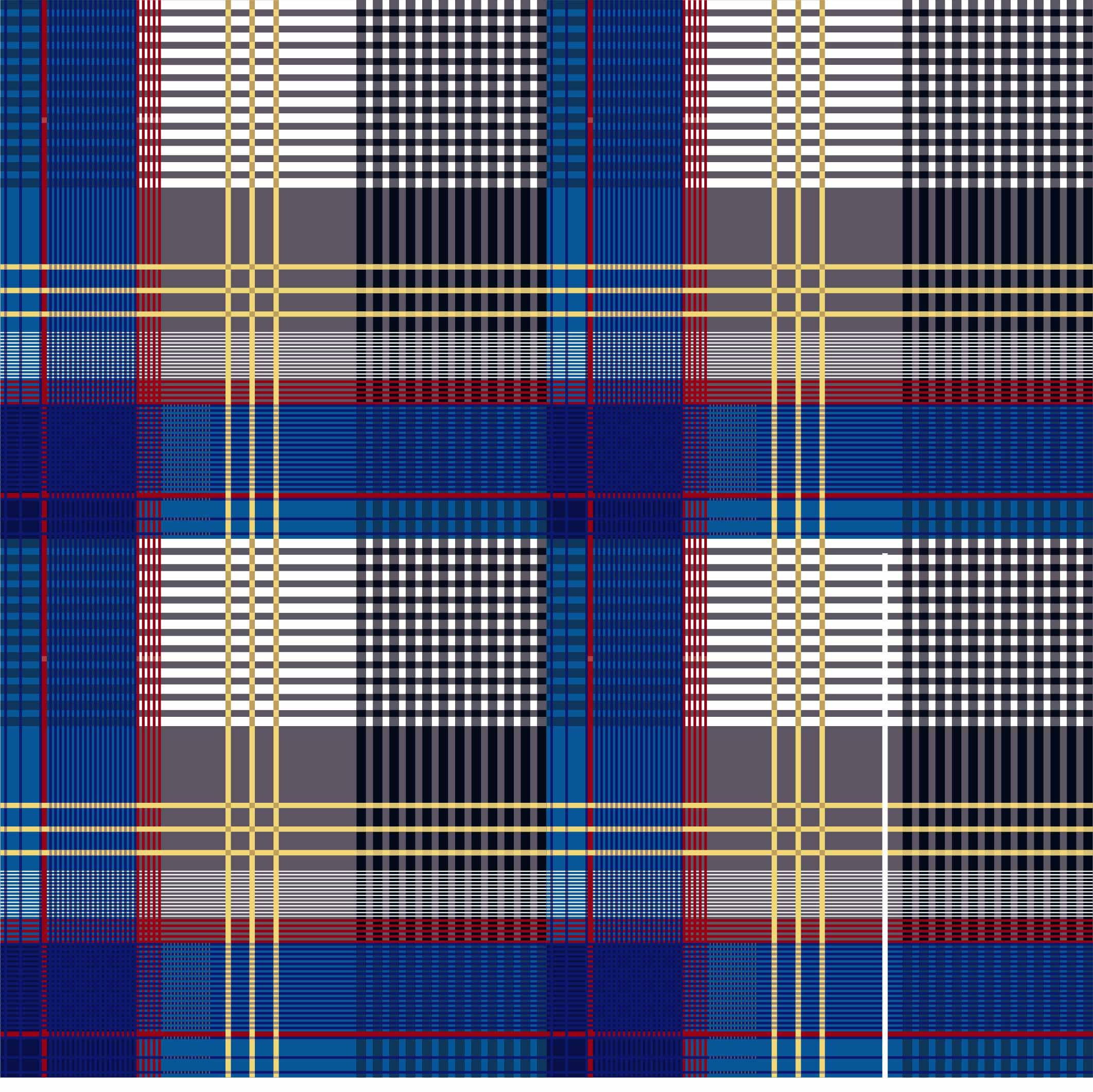 几何线条格子印花矢量图服装纺织面料数码印花花型素材-POP花型网