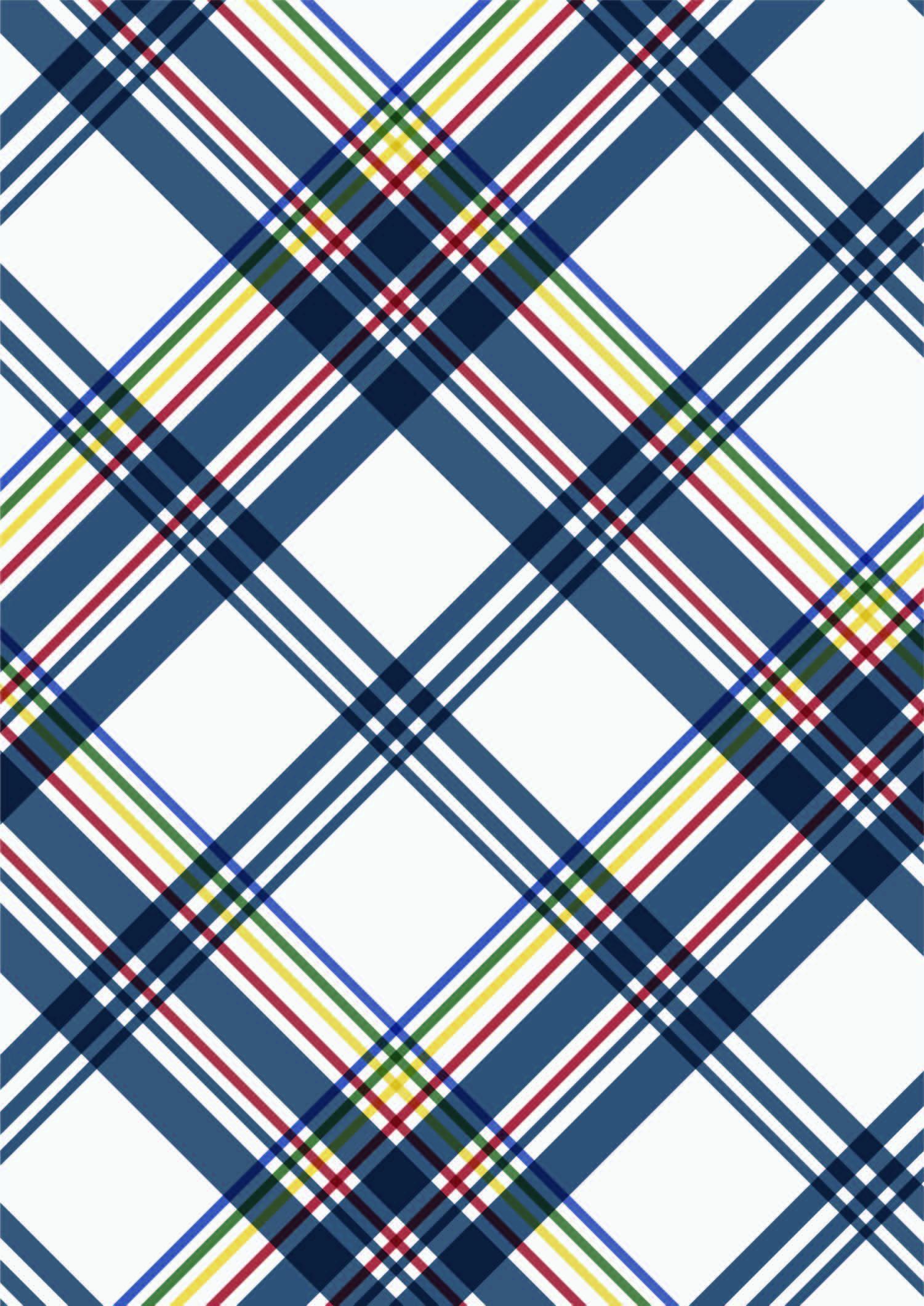 几何格子印花矢量图服装纺织面料数码印花花型素材-POP花型网