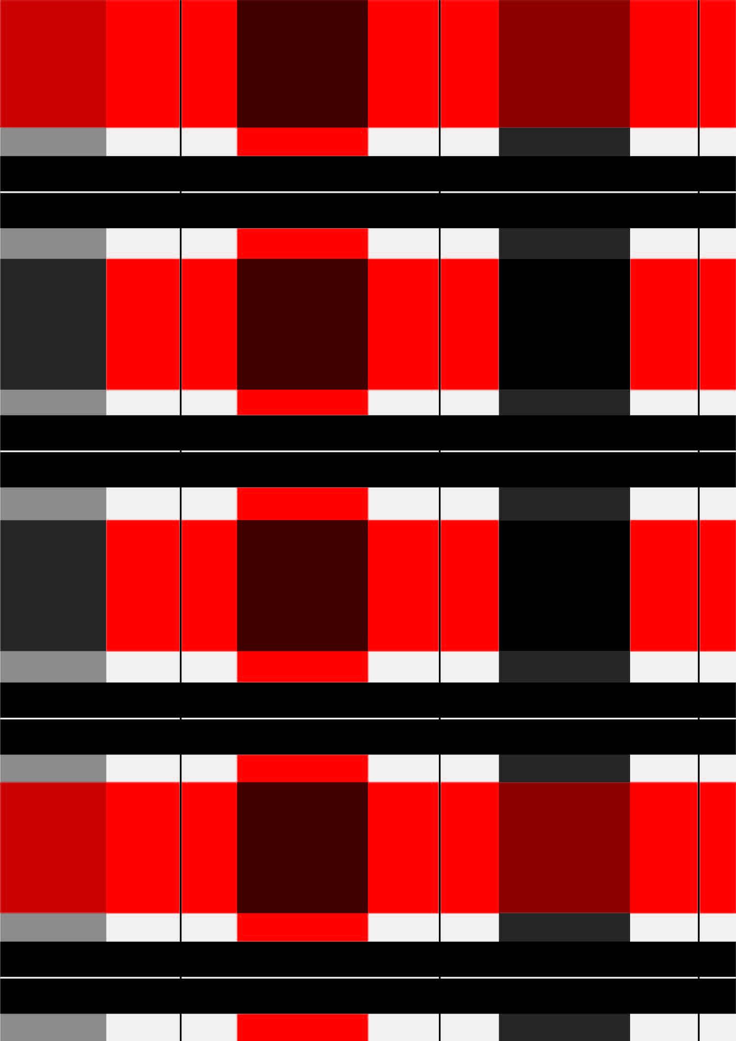 几何红色格子印花矢量图服装纺织面料数码印花花型素材-POP花型网
