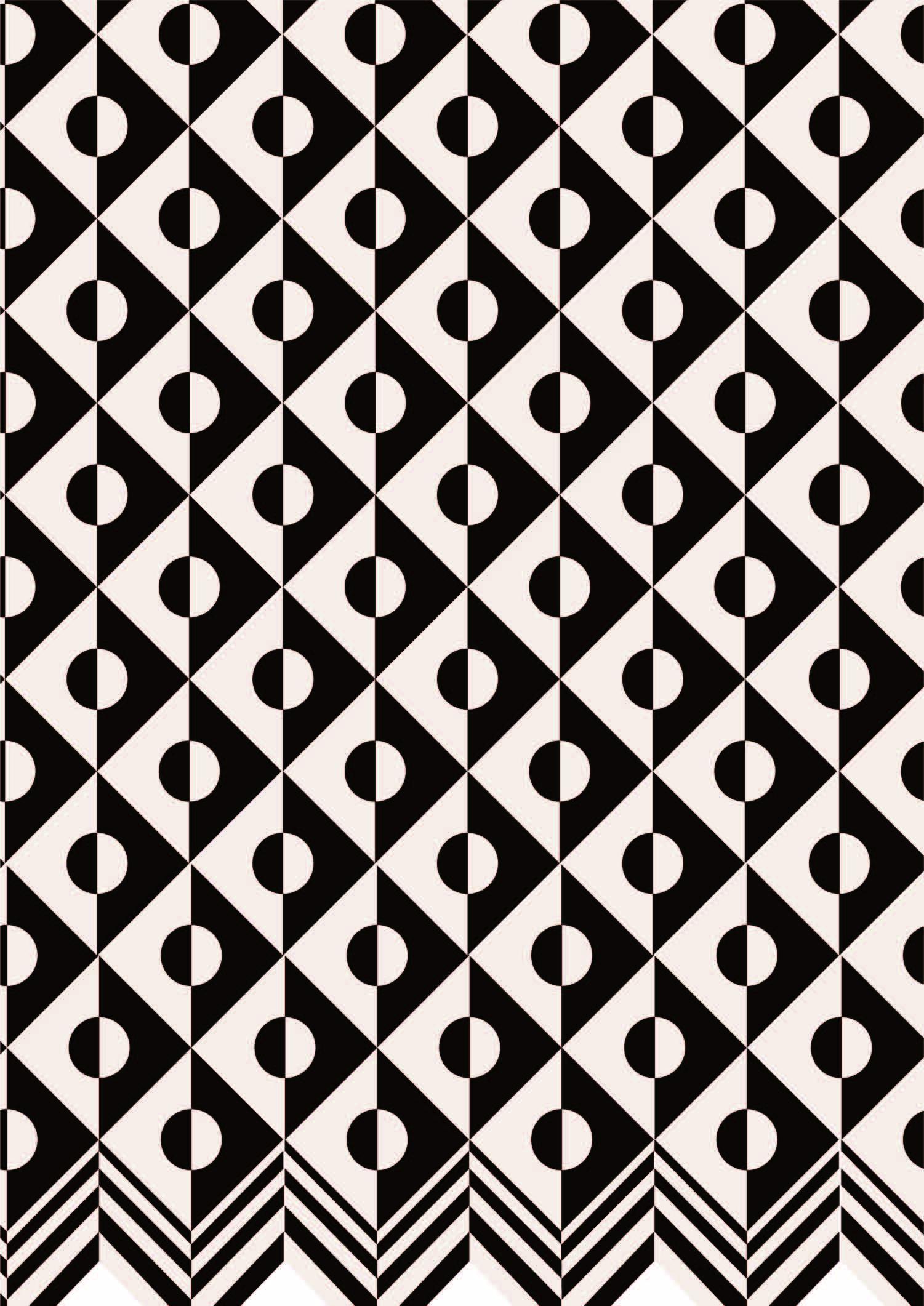 几何印花矢量图服装纺织面料数码印花花素材-POP花型网