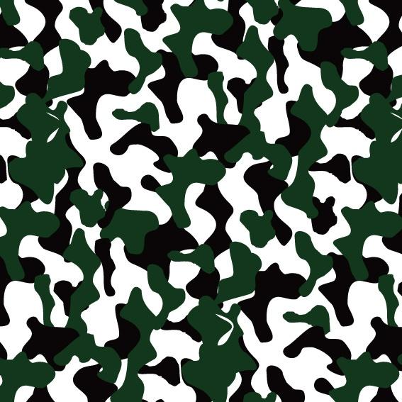 几何条纹迷彩印花矢量图服装纺织面料数码印花花型素材-POP花型网