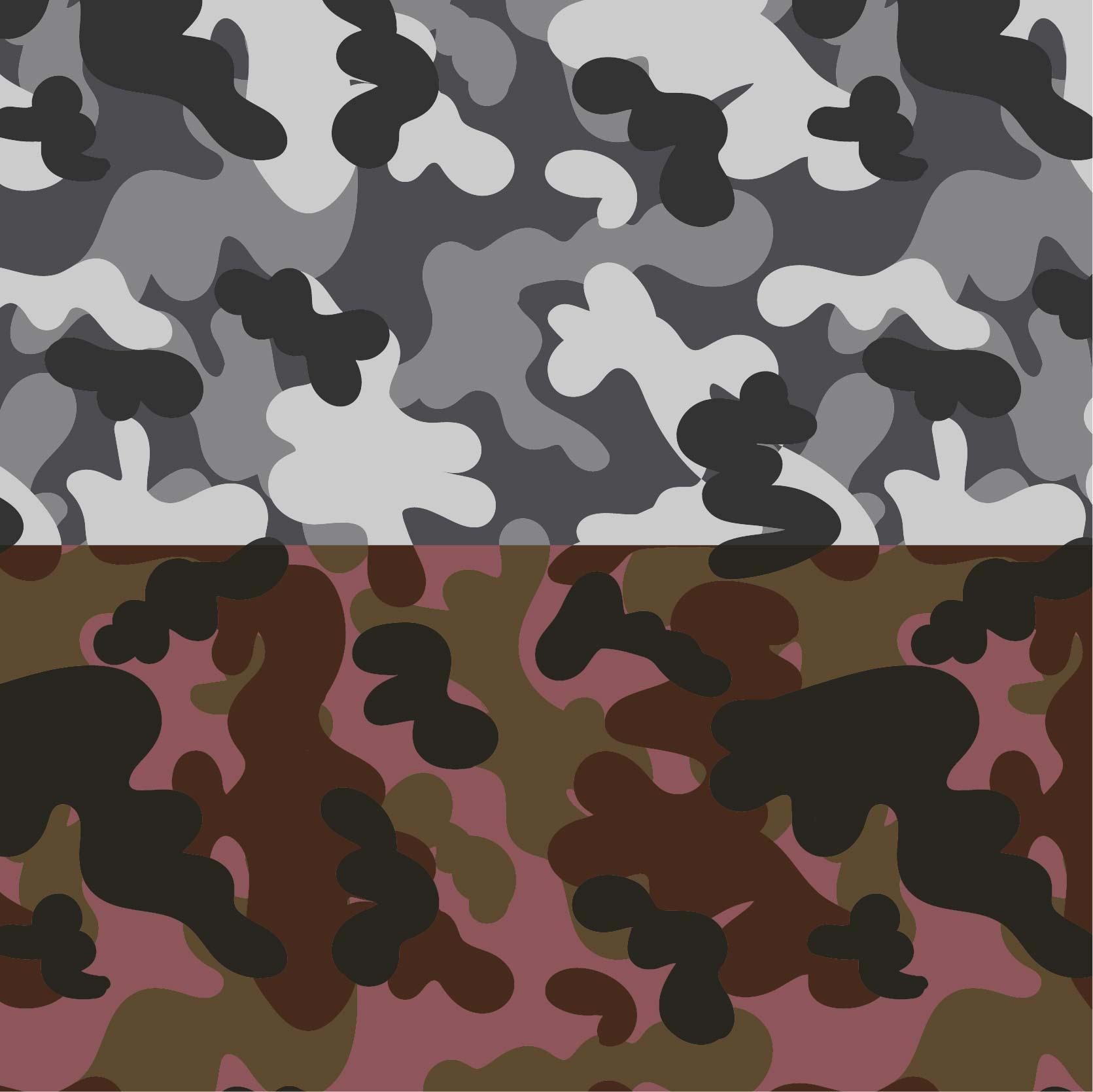 几何迷彩印花矢量图服装纺织面料数码印花花型素材-POP花型网
