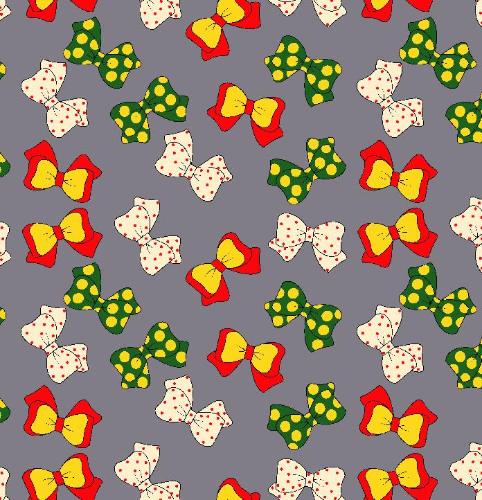 几何图案蝴蝶结拼接印花矢量图服装纺织面料数码印花花型金昌素材-POP花型网