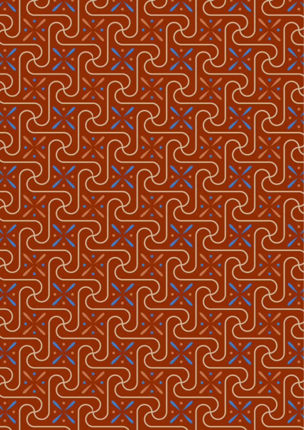 几何条纹拼接印花矢量图服装纺织面料数码印花花型素材-POP花型网
